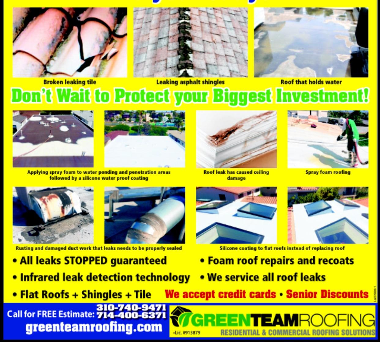 Greenteam Roofing & Insulation, Inc. logo