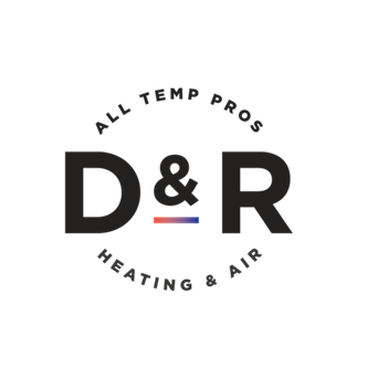 D & R Heating and Air logo