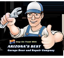 Arizona's Best Garage Door and Repair Company logo