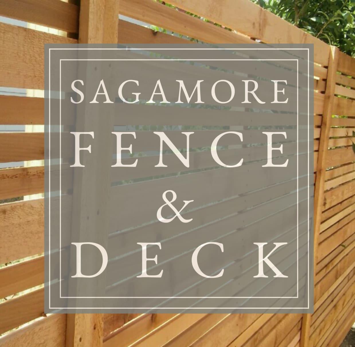 Sagamore Fence & Deck logo