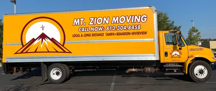 Mt. Zion Moving and Storage LLC logo