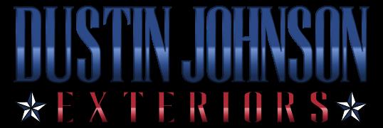 Dustin Johnson Exteriors logo