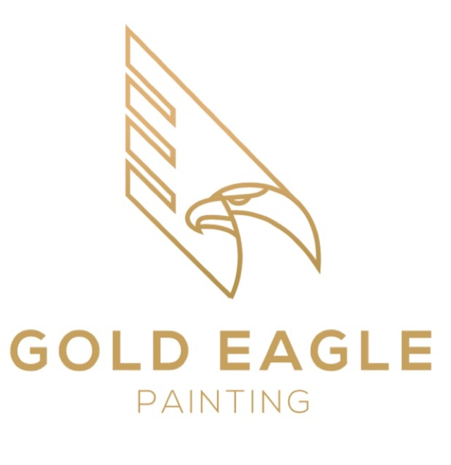 Gold Eagle Painting  logo