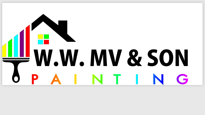 W.W. MV & SON PAINTING  logo