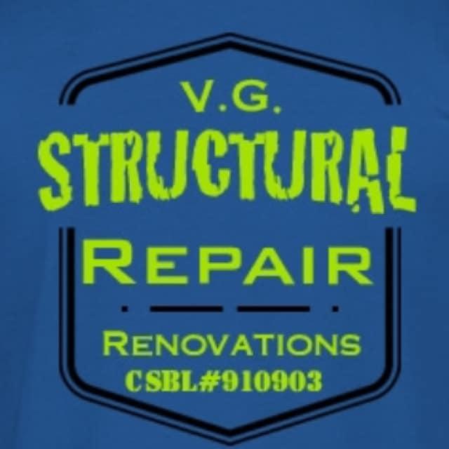 VG Structural Repair & Renovations logo