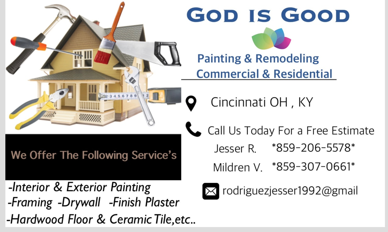 God Is Good Painting and Remodeling LLC logo