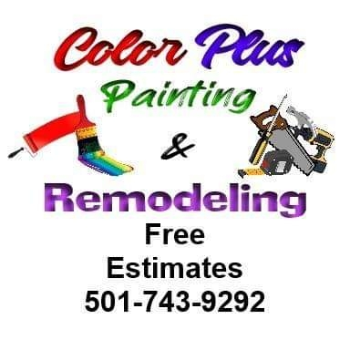 Color Plus Painting & Remodeling logo