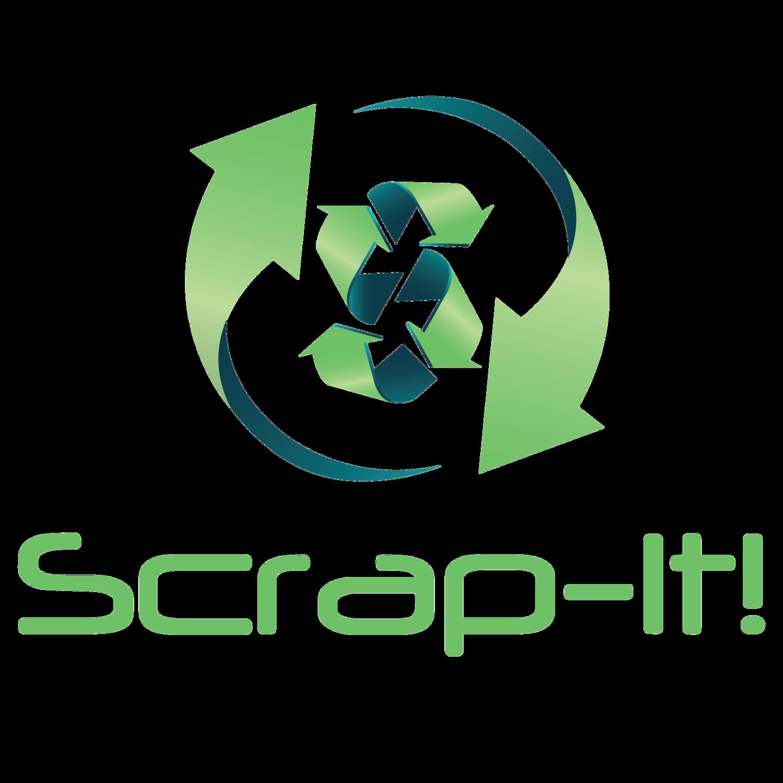 SCRAP-IT! JUNK REMOVAL logo