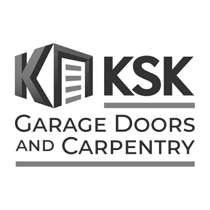KsK Garage Doors logo