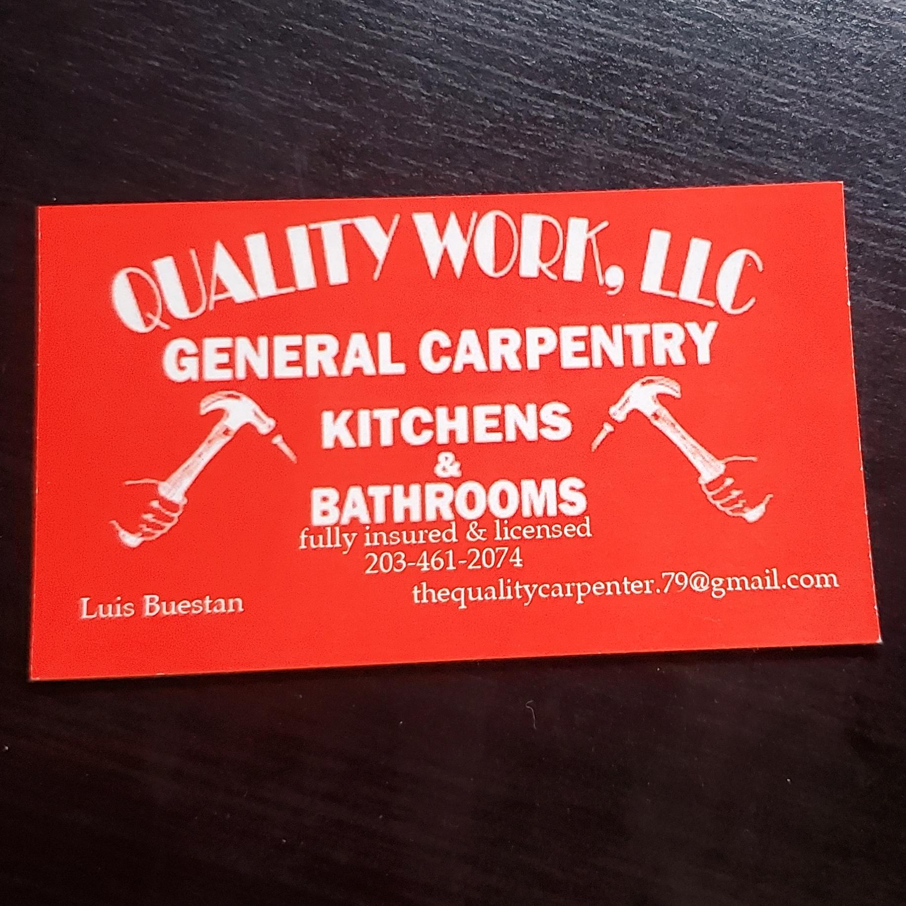 Quality work LLC logo