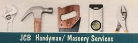 JCB Handyman/ Masonry logo