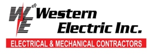 Western Electric Heating and Cooling  logo