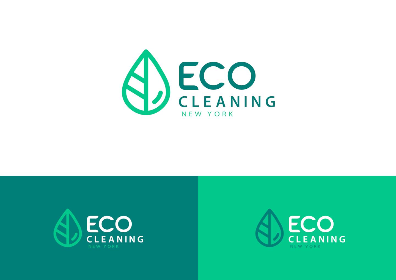 Eco-cleaning company logo