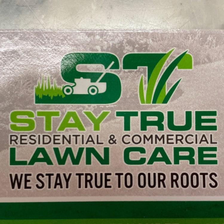 Stay True Lawn Care logo