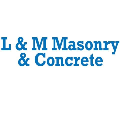 L & M Masonry & Concrete logo