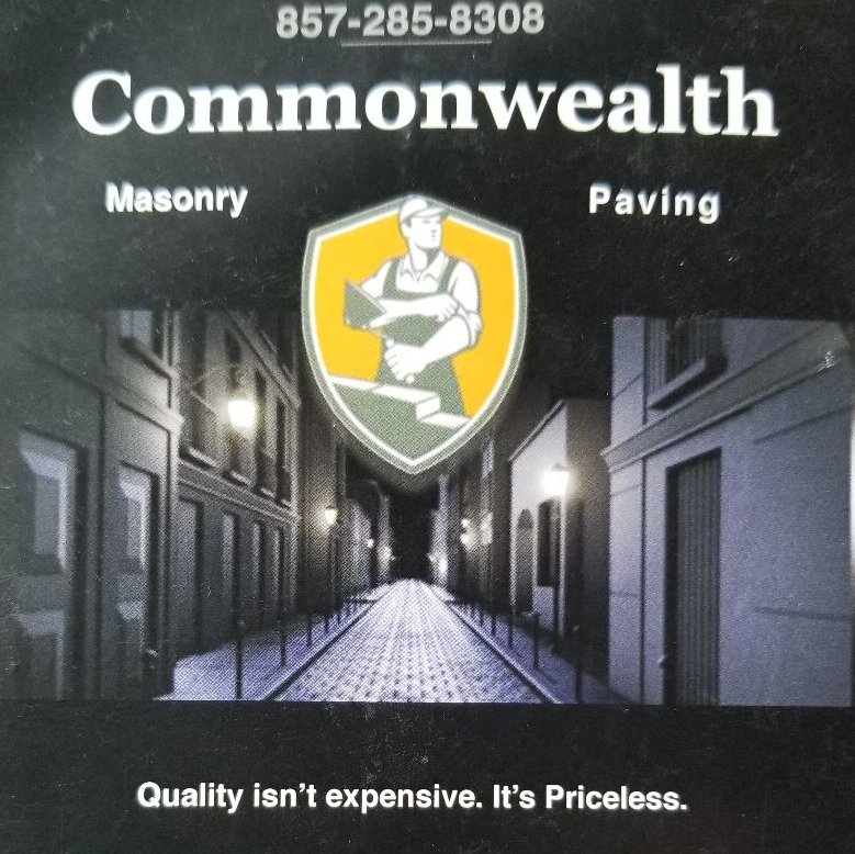 Commonwealth Masonry and Paving logo