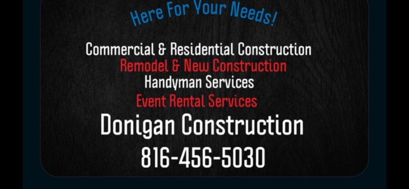Donigan Construction logo