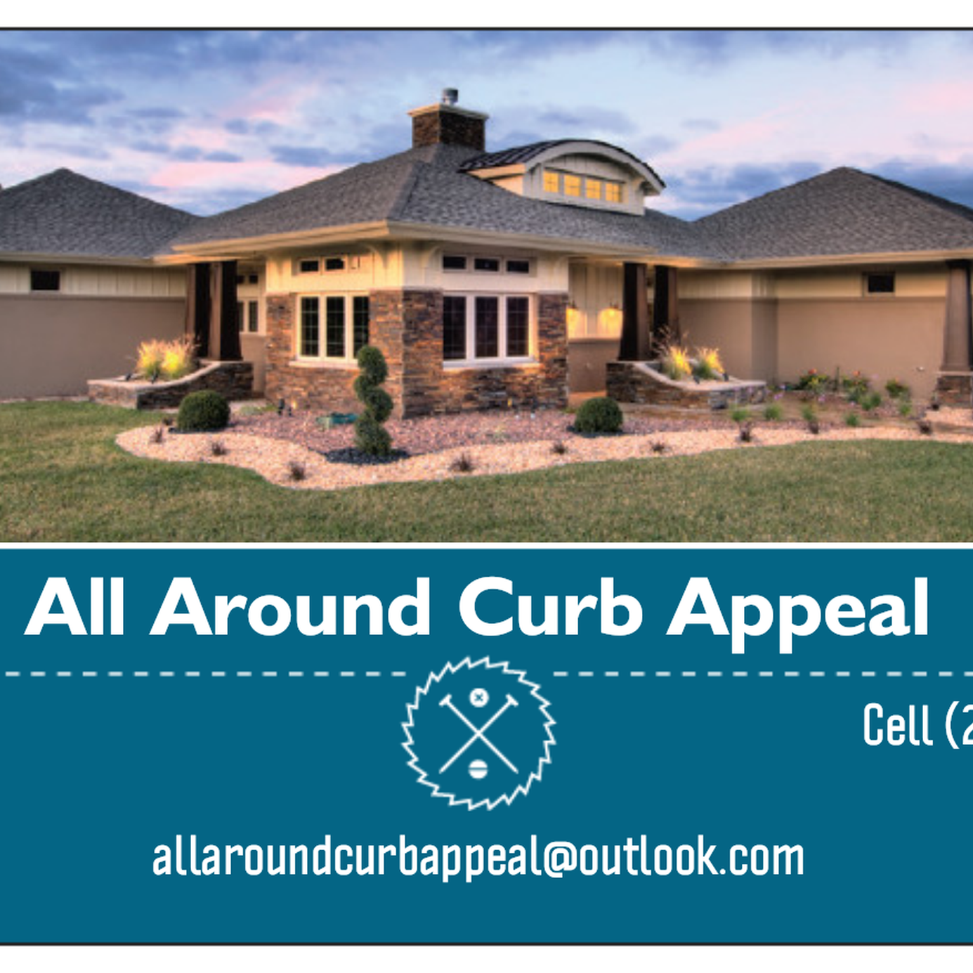 All Around Curb Appeal logo